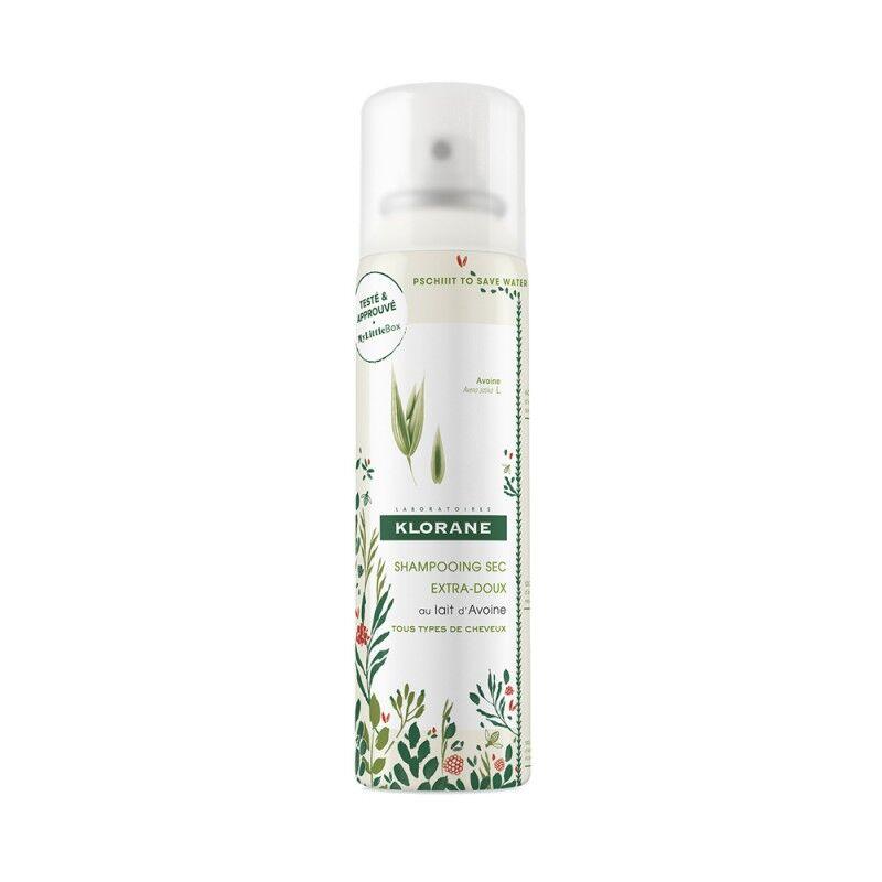 Pierre Fabre Klorane shampooing sec extra-doux au lait d'avoine 150ml