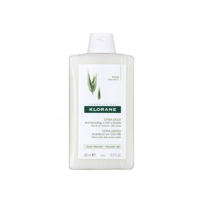 Klorane Shampooing extra doux protecteur au lait d'avoine 400ml