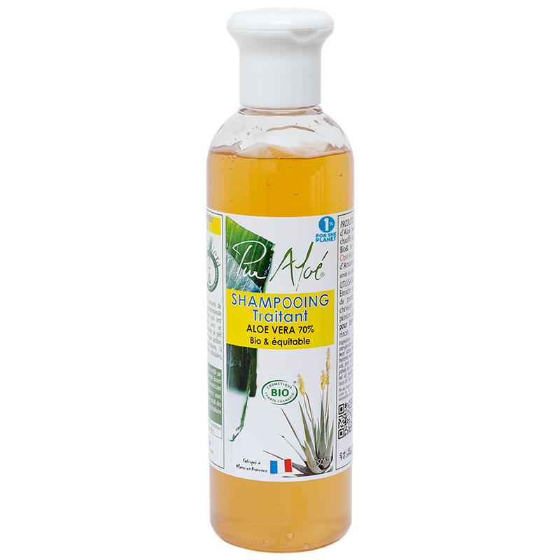 Pur Aloe Pur Aloé Shampoing traitant aloé vera 70% - 250ml