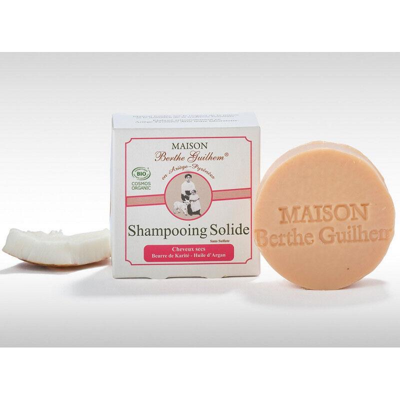 Maison Berthe Guilhem Shampoing solide cheveux secs et abîmés Bio - 100g