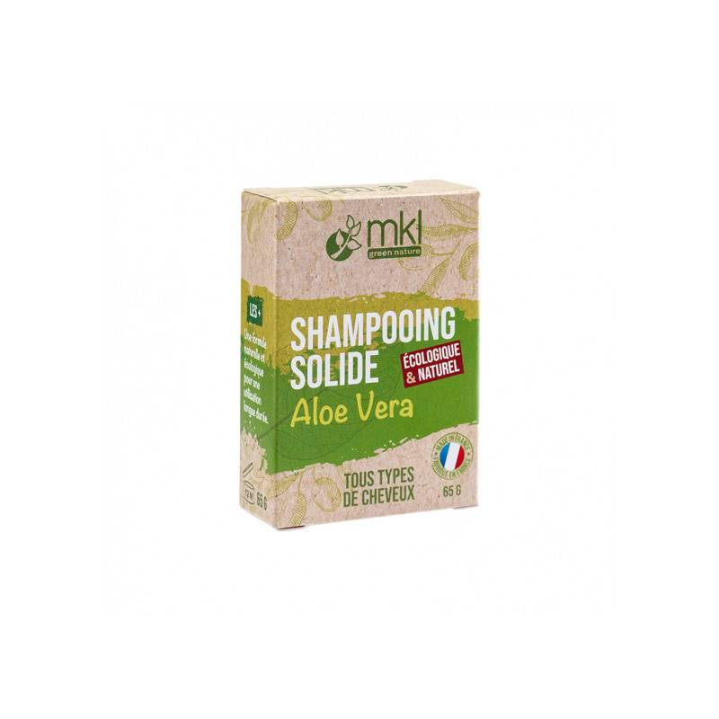 MKL Shampooing solide aloe vera cheveux normaux - 65g