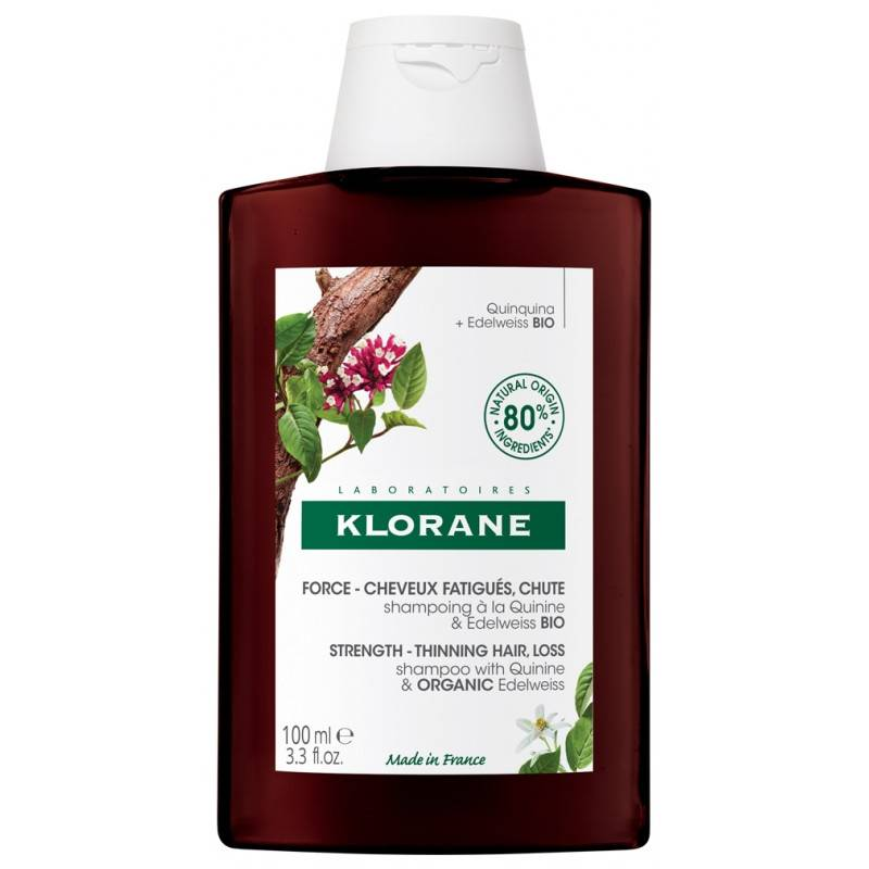 Klorane Shampoing fortifiant et stimulant à la Quinine - 100ml