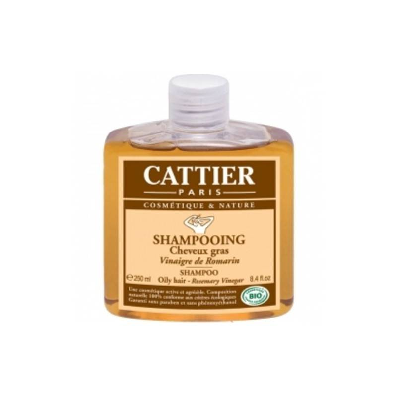 Cattier shampooing vinaigre de romarin 250ml