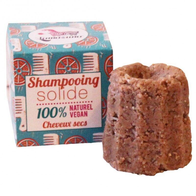 Lamazuna SHAMPOOING SOLIDE 100% NATUREL VEGANE CHEVEUX SECS 55 g