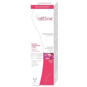 Netline Crème dépilatoire 3 minutes - 150ml - Publicité