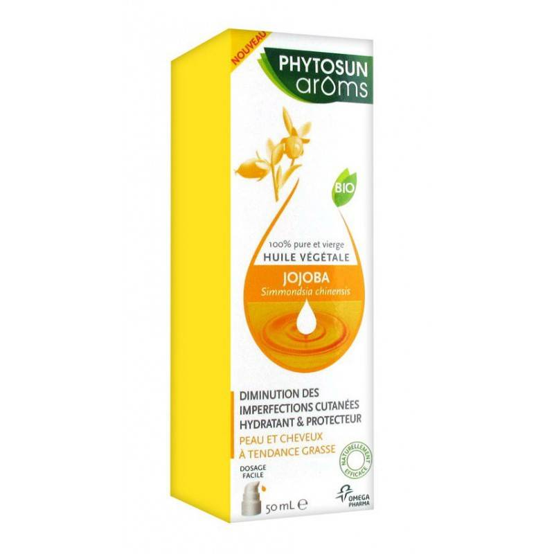 Phytosunarôms Phytosun Arôms Huile Végétale de Jojoba 50 ml