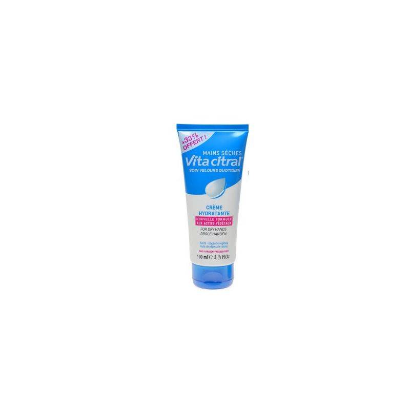 Asepta Vita citral creme hydratante mains seches 100ml