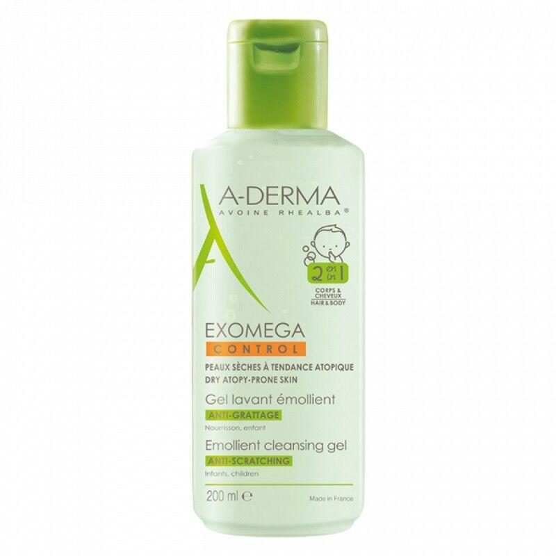 Aderma A-Derma Gel lavant émollient Exomega Control - 200ml