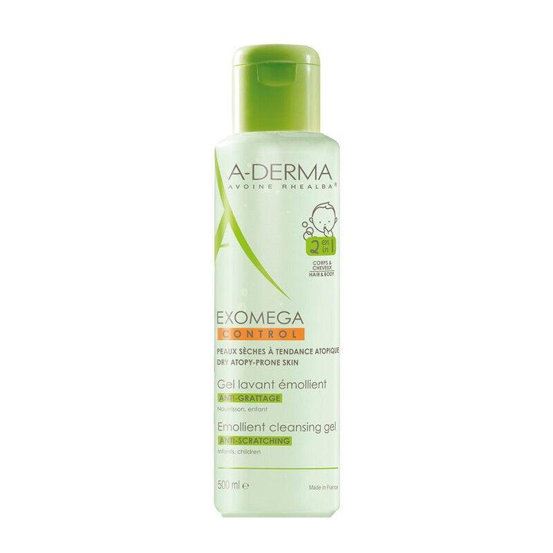 Aderma A-Derma Gel lavant émollient Exomega Control - 500ml
