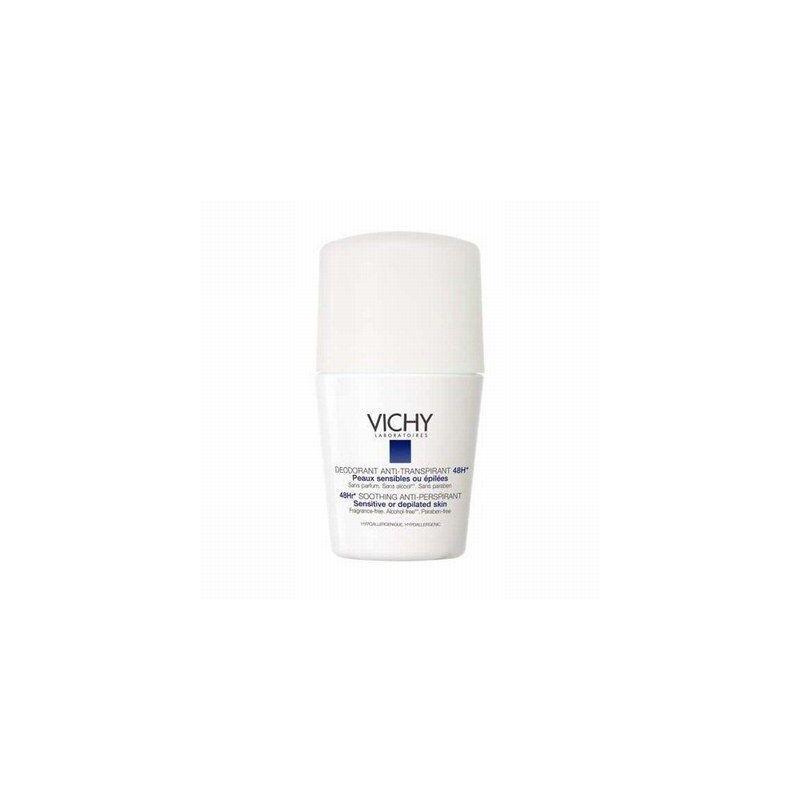 Vichy Déodorant peaux sensibles bille 50ml