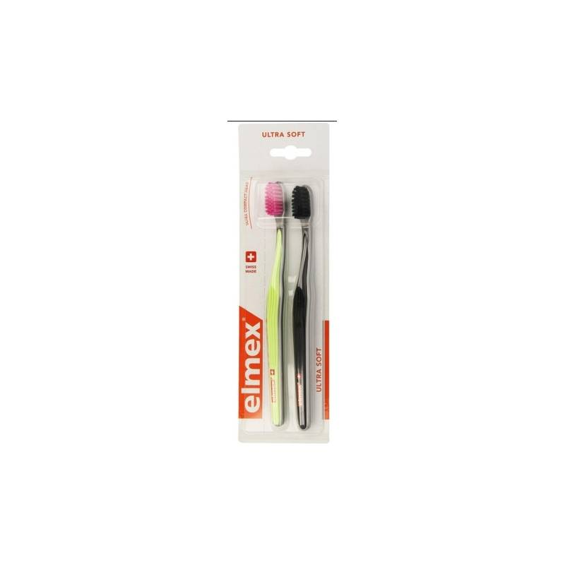 Gaba Elmex Brosse à dents x2 ultra soft