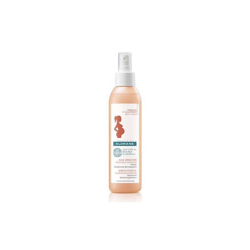 Klorane huiles vergetures prévention/correction 100 ml