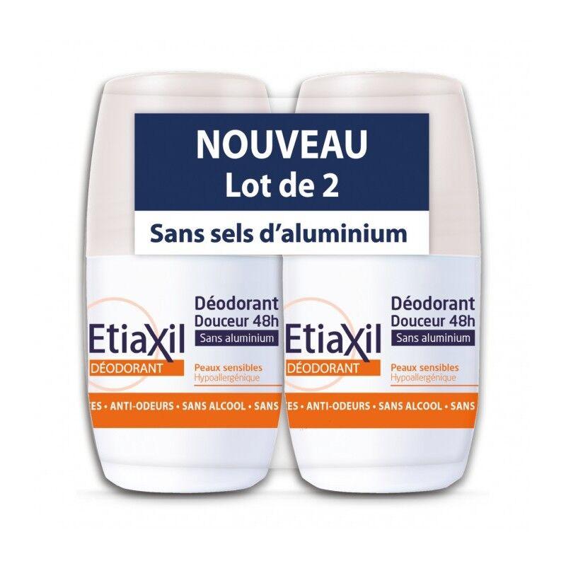 Cooper Etiaxil déodorant bille douceur peaux sensibles 2x50ml