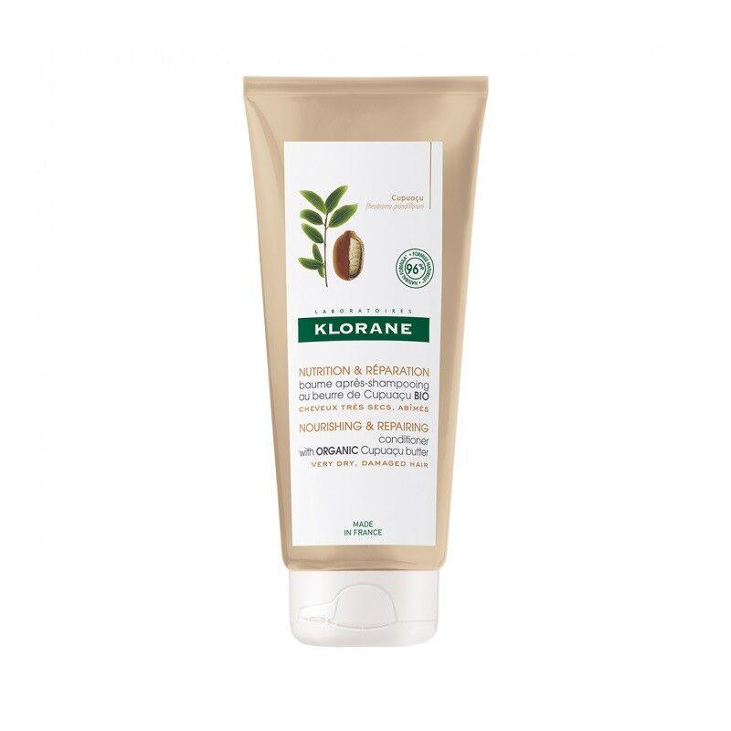 Klorane Baume après-shampoing au beurre de Cupuaçu Bio - 200ml