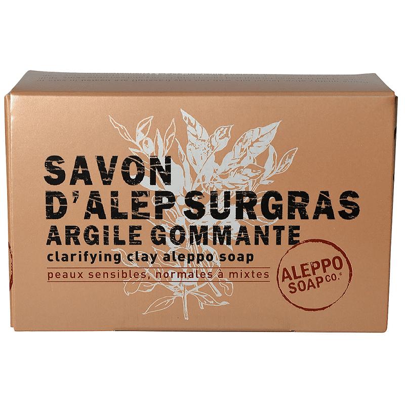 Tadé Savon d'Alep surgras argile gommante - 150g