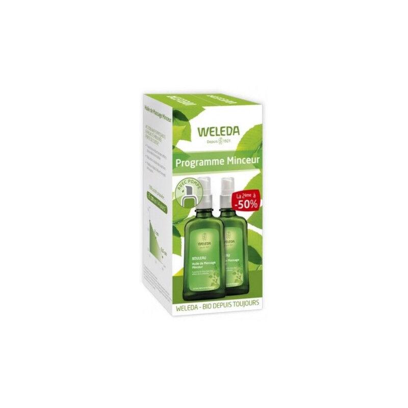 Weleda huile de massage minceur 2 X 100 ml