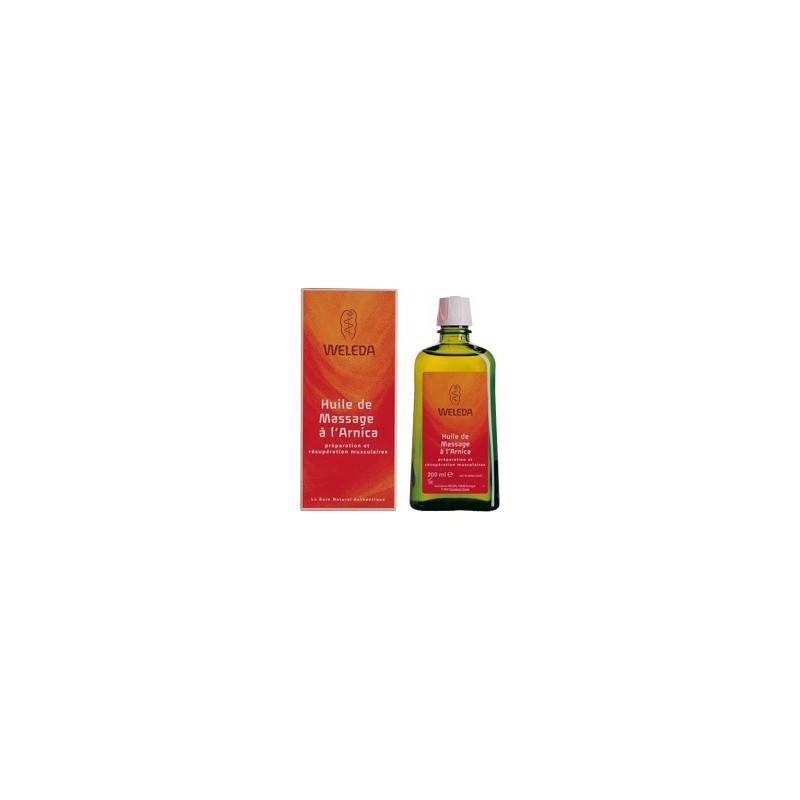 Weleda huile de massage a l'arnica 50 ml