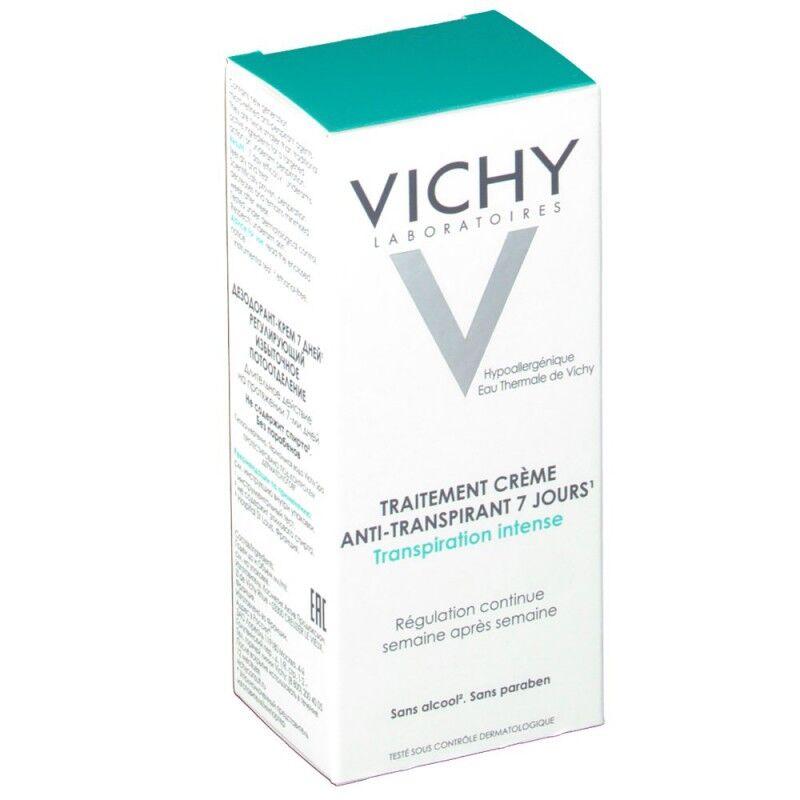 Vichy traitement anti-transp creme efficacite 7 jours 30 ml
