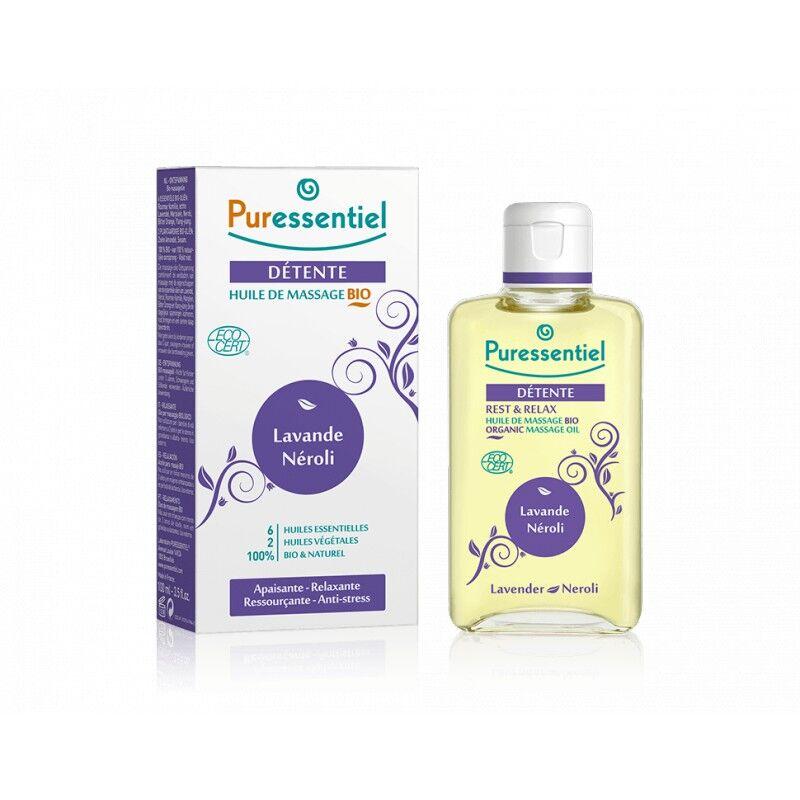 Puressentiel Détente Huile de Massage Bio 100 ml
