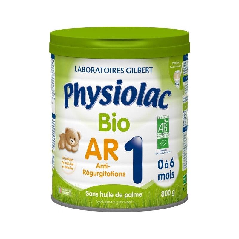 gilbert Physiolac Lait anti-régurgitations Bio 1er âge - 800g