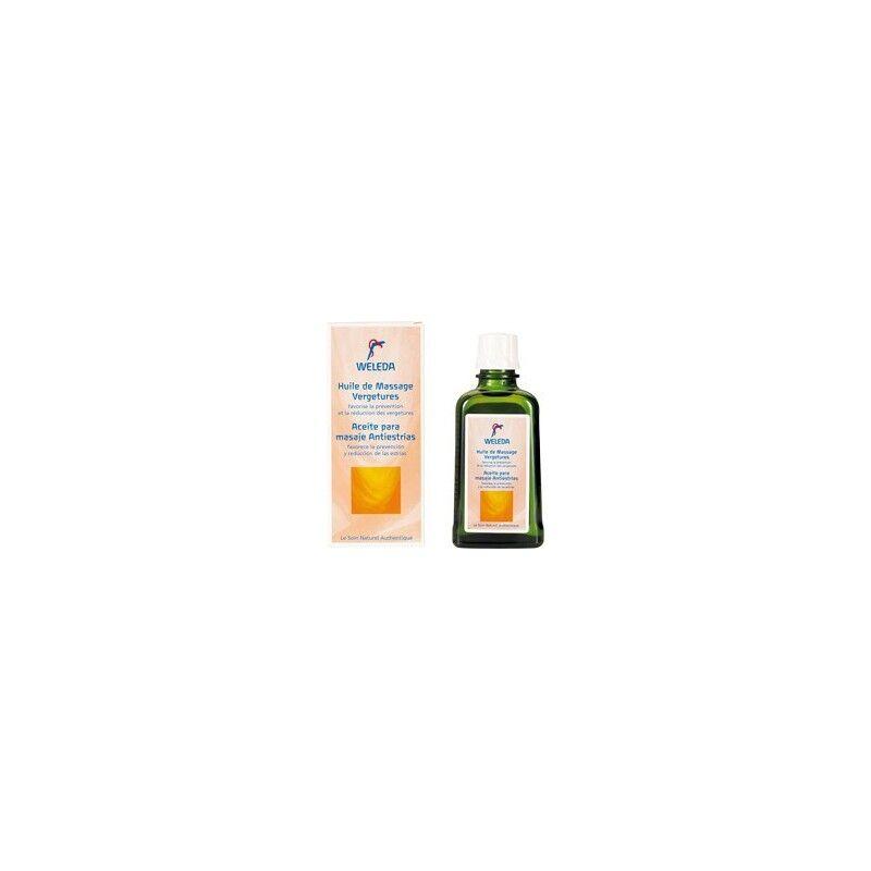 Weleda huile de massage vergetures 100ml