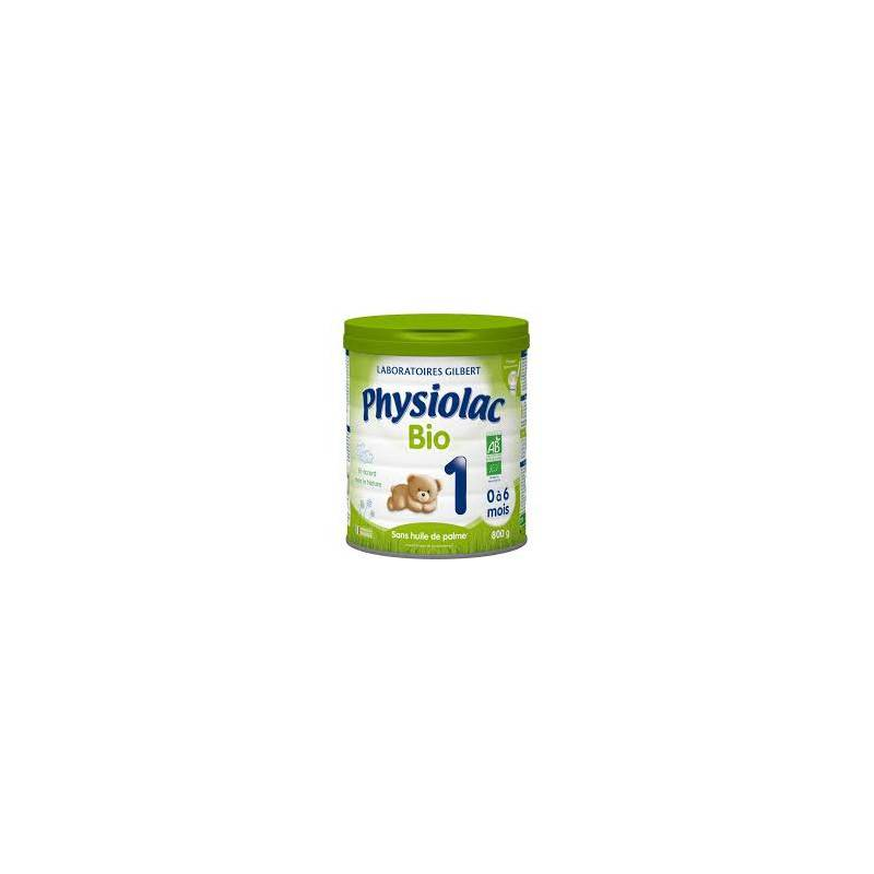 gilbert Physiolac Lait Standard Bio age 1 - 800 g