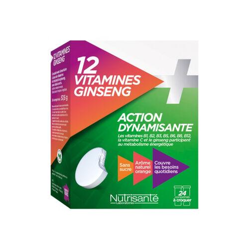 Nutrisanté 12 Vitamines + Ginsen...
