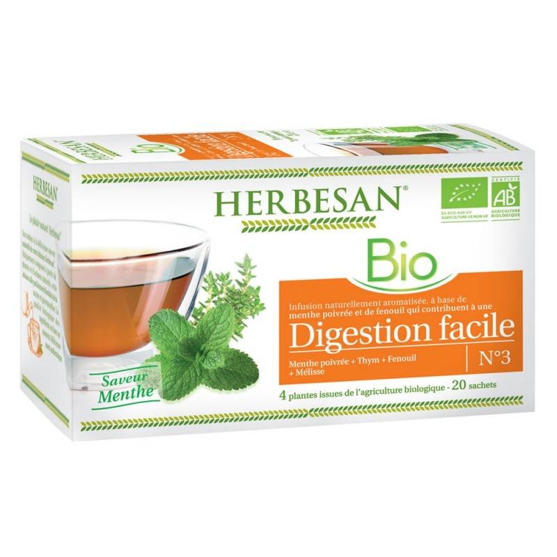 Super Diet Herbesan infusion digestion facile N°3 - 20 sachets