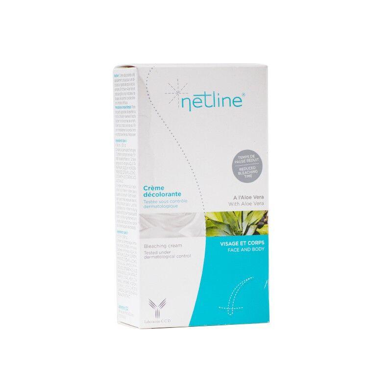 Laboratoire CCD Netline crème décolorante visage et corps