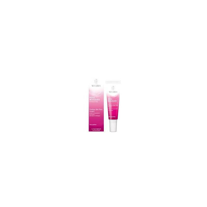 WELEDA ROSE MUSQUEE CONTOUR DES YEUX 10 ML