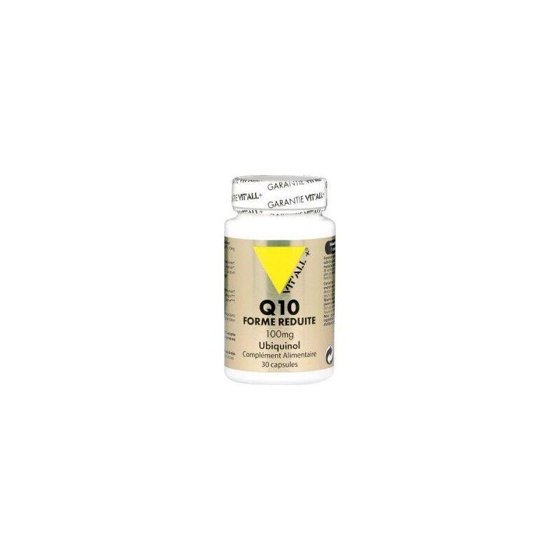 Vitall + Vitall+ Ubiquinol Q10 réduit 100 Mg 30 capsules
