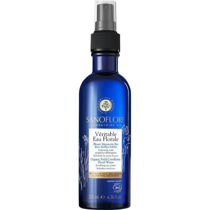 Sanofi Sanoflore Véritable eau florale de bleuet Bio - 200ml