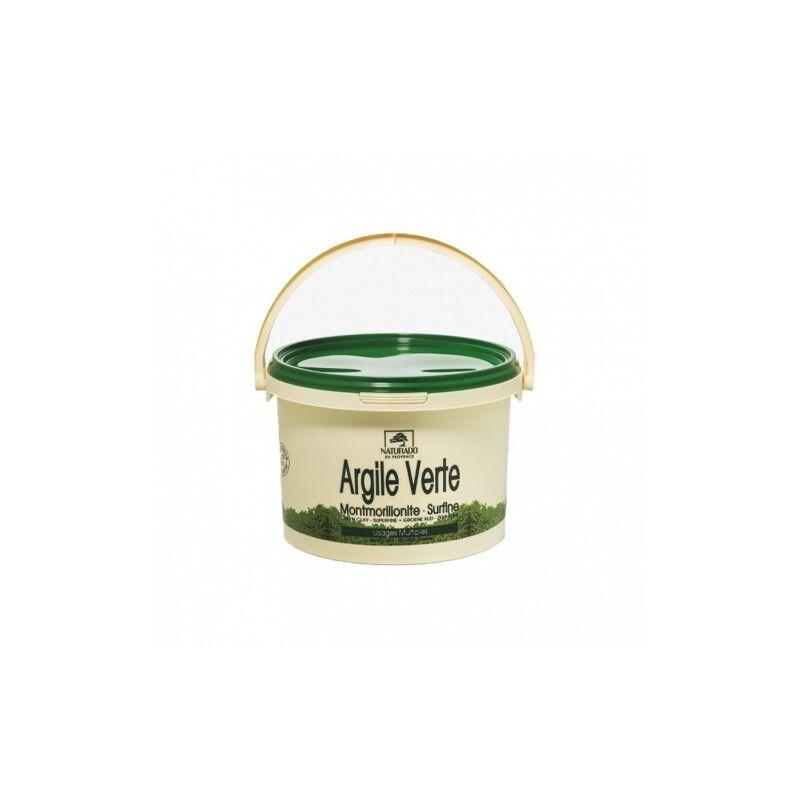 Naturado en provence Naturado argile verte montmorillonite sceau de 2.5 Kg