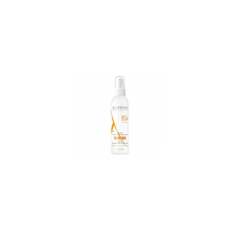 Aderma protect spray spf 50+ 200ml / 1 gel douche offert