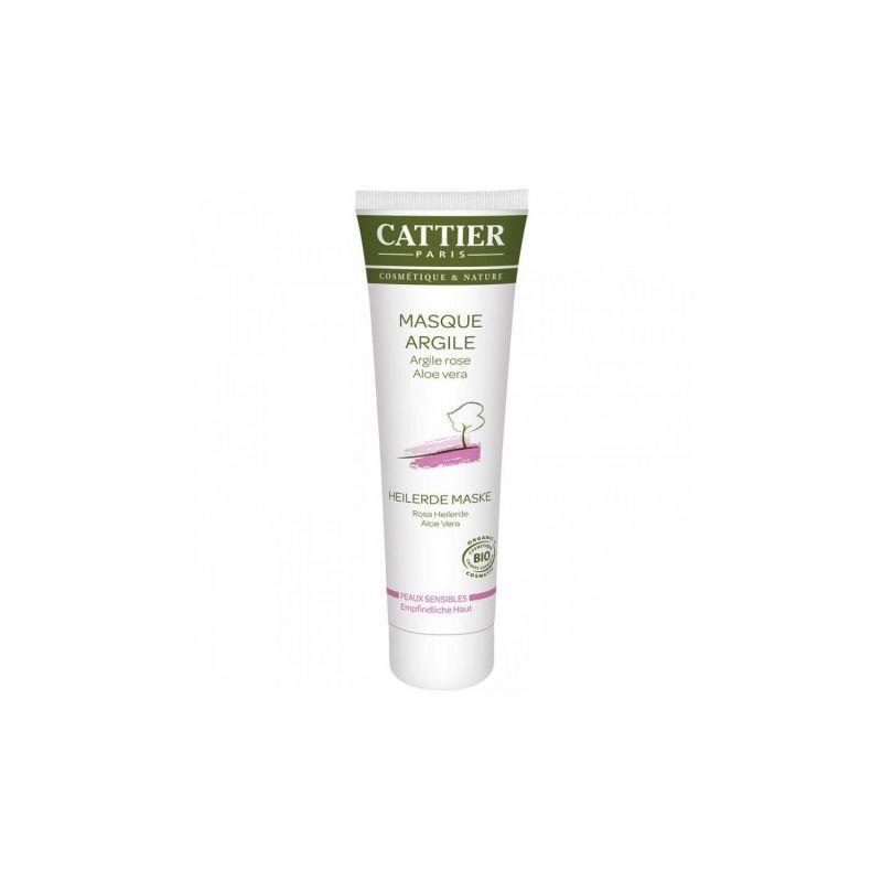 Cattier masque argile peaux sensibles 100ml