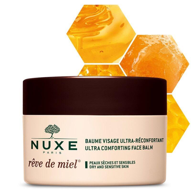 Nuxe Rêve de Miel Baume visage ultra-réconfortant - 50ml