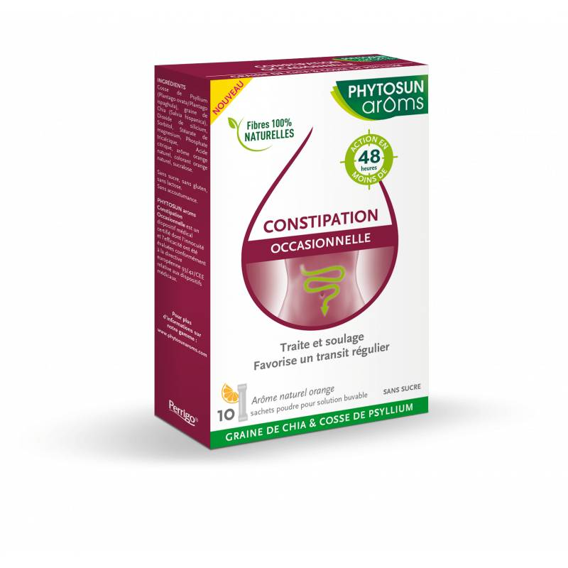 Phytosun arôms constipation occasionnelle 10 sachets