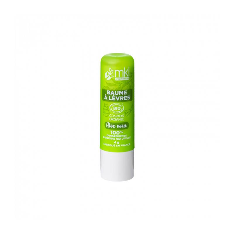 MKL Baume à lèvres Aloe vera certifié Bio - 4 g