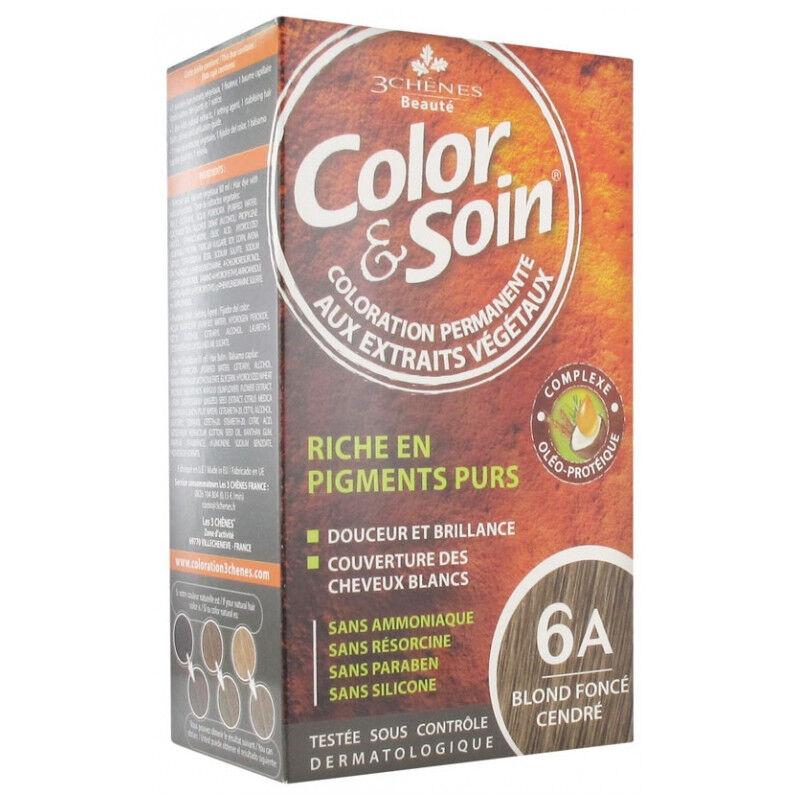 Les 3 Chênes Color & Soin blond foncé cendré 6A