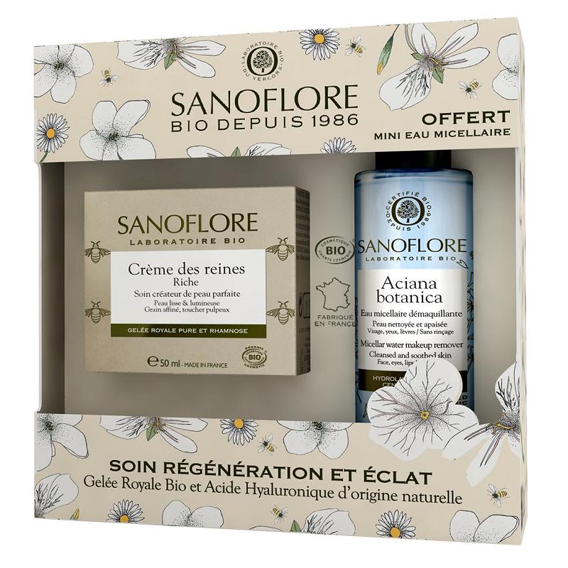 Sanoflore Coffret Crème des reines riche certifié Bio