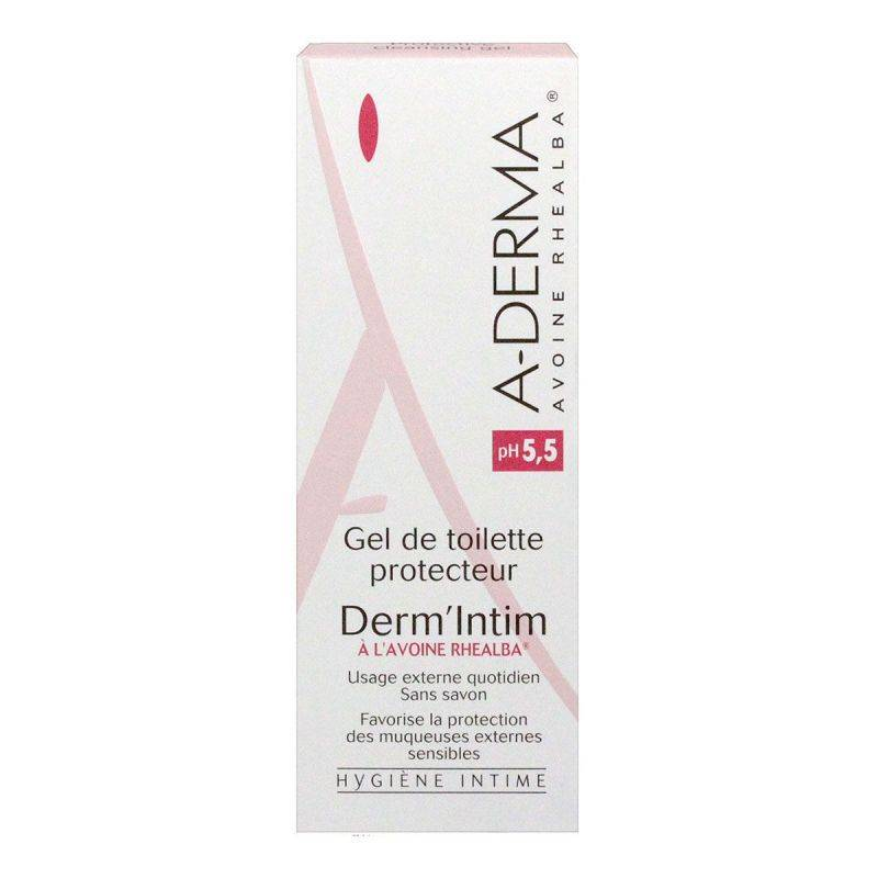 Aderma Derm'intim gel toilette Ph5,5 200ml