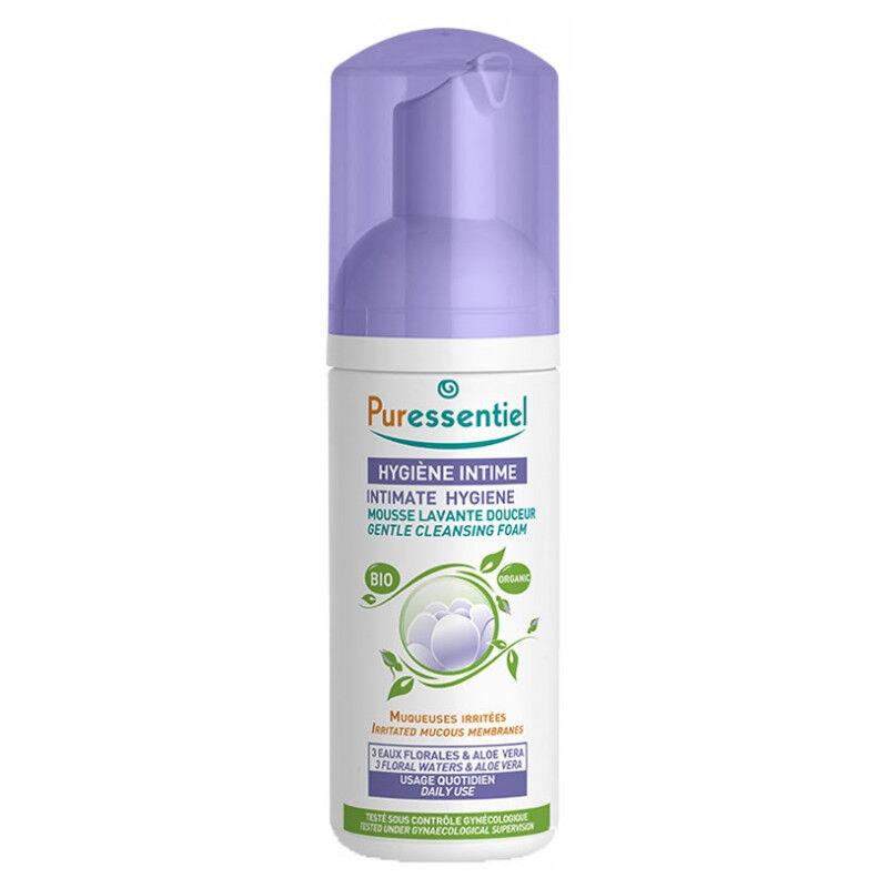 Puressentiel Mousse lavante douceur hygiène intime Bio - 150ml