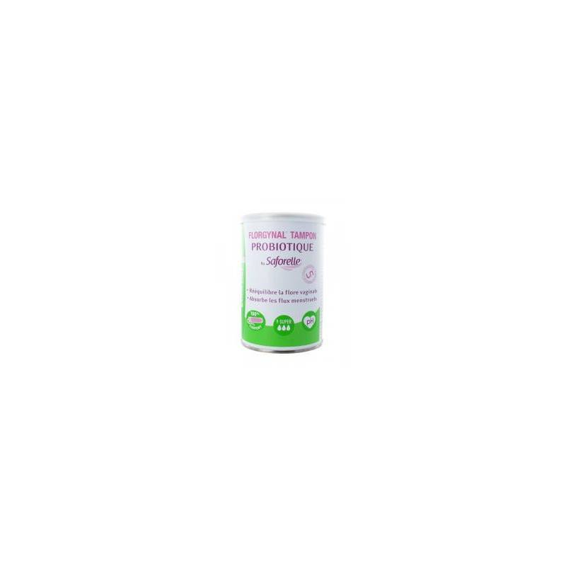 Saforelle Florgynal Tampon Applicateur Compact 9