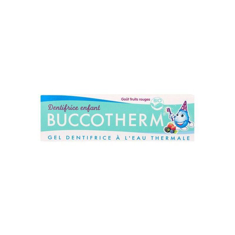 Buccotherm Gel dentifrice enfants bio goût fruits rouges - 50ml