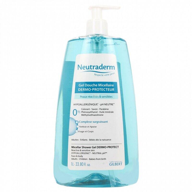 gilbert Neutraderm gel douche micellaire - 1 L
