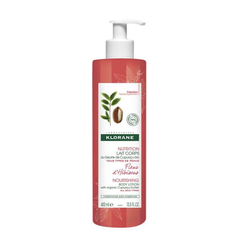 KLORANE Fleur d'hibiscus Lait corps nutrition 400ml