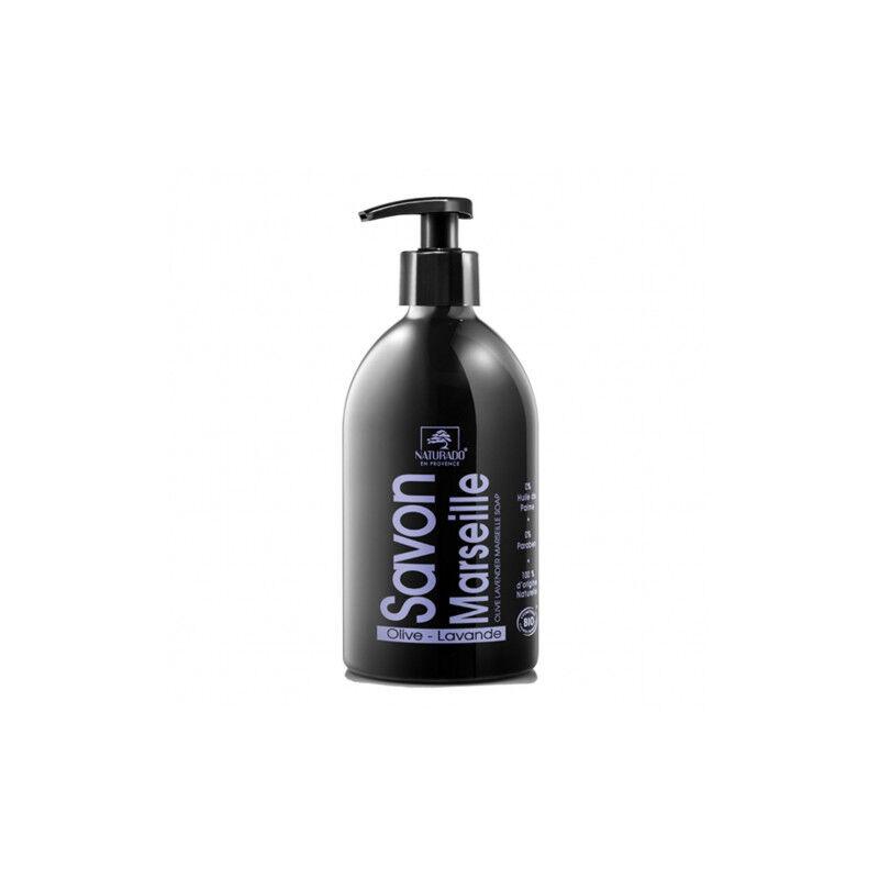 Naturado en provence Naturado savon de marseille olive/lavande bio 500 ml