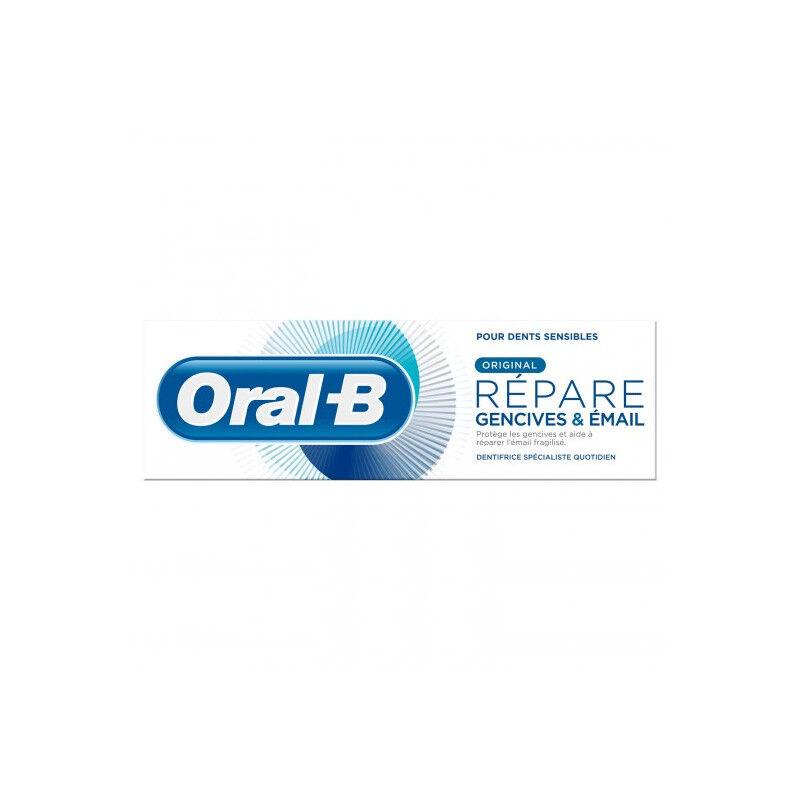 Procter&Gamble Oral B Dentifrice Répare gencives et émail - 75ml