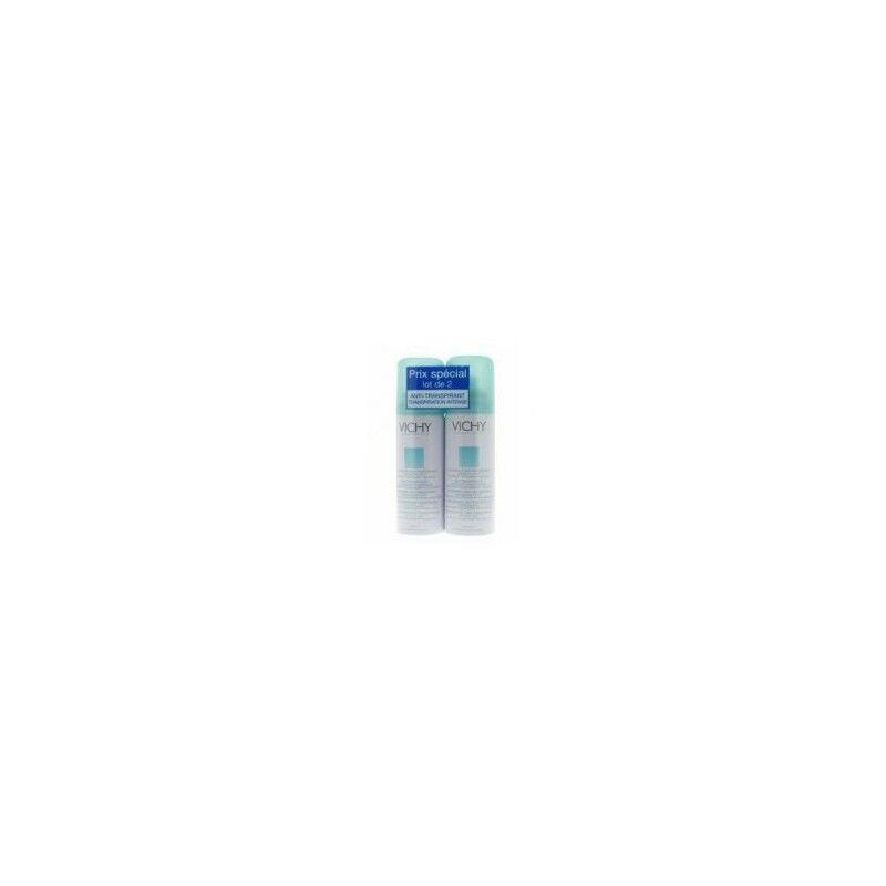 Vichy deodorant anti transpirant aerosol 125ml lot de 2