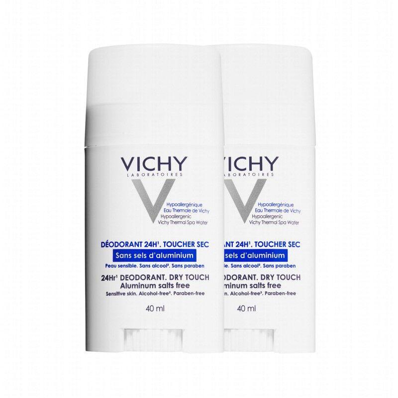 Vichy Déodorant Stick Sans Sel Aluminium DUO